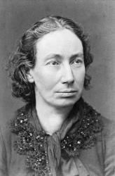260px louise michel grayscale