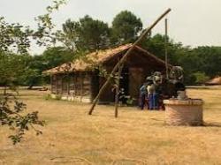 Maison et puits