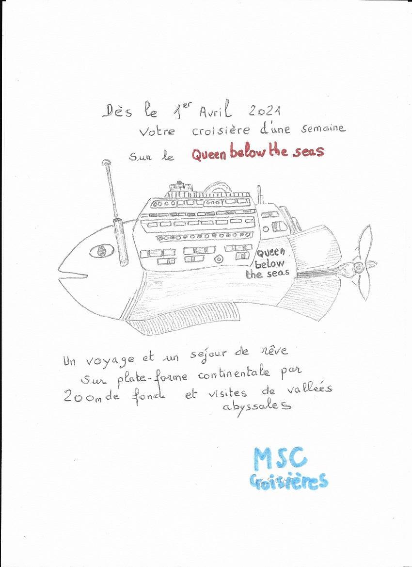 Queen below the seas